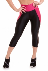 Capri Leggings Atletika Wild Black Sense