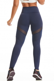 Blaue Leggings NZ Strong Power Her