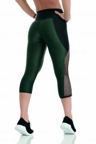 Capri Leggings Atletika Wild Grün Sense