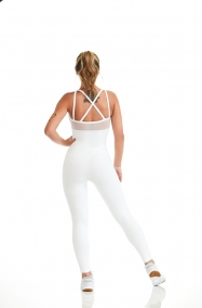 Jumpsuit NZ Shine White Selflove